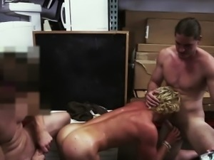 Athlete blonde game for group sex