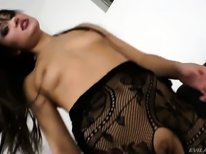 Omar Galanti cant resist beautiful Lisa Ls acttraction and bangs her back...