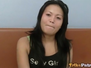 playful filipina gets picked up