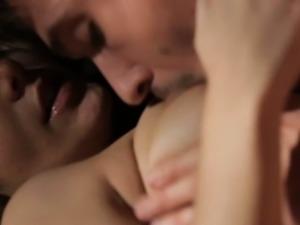 Soft focus sensual love making session