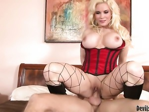 Sinfully sexy whore Diamond Foxxx knows that hard fuck is the only thing that...