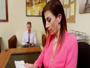 Fuck Sara Jay in office free