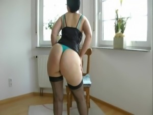 Mature housewife with big ass fucked in the kitchen free