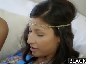 BLACKED First Interracial For Rich Arab Girl Jade Jantzen