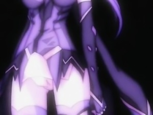 Shemale anime cutie pussy and anal fucked