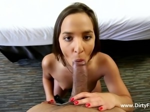 slutty amirah gets horny
