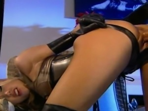 Briana Banks becomes a submissive in the last scene of this