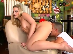Alexis Texas is one incredible blonde babe with a huge ass and shes going to...