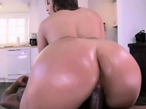Fat booty Abella Danger loves black prick