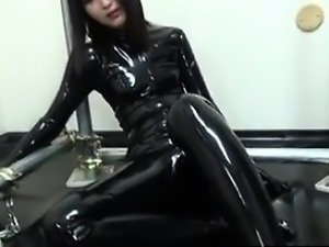 From DOM-MATCH.COM - Japanese Latex Catsuit 92