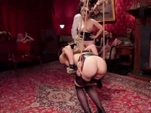 aubrey gets tied up and fucked