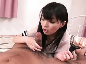 Cumshot for a craving Asian