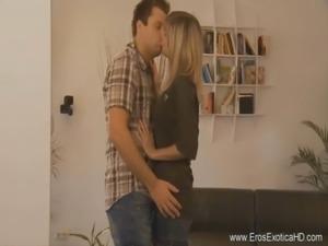 Loving The MILF Kissing her Softly free