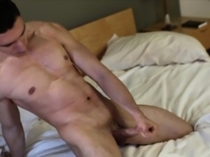 Hot muscly mormon cums