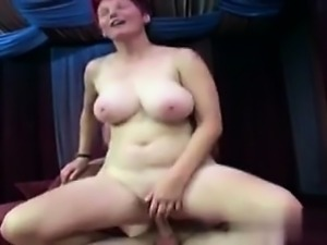 Fucked her on MILF-MEET.COM - Two chubby matures pleasing on