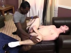 Adam Rhodes Gets Introduced To Black Cock