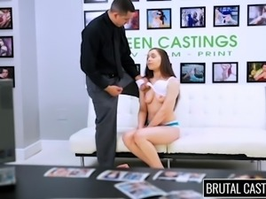 tiffany gets mouth fucked and whipped