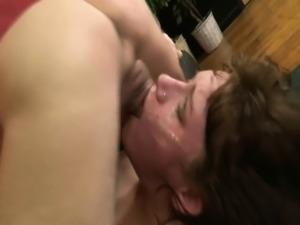 Insane face fucking of Emma Love