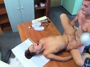 FakeHospital Sexy nurse makes doctors son cum twice