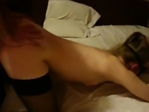 Cuckolding wife fucked like a doggy