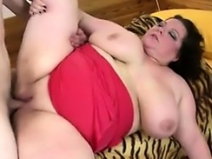 From BBW-CDATE.COM - Big mature mother suck and fuck not her