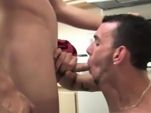 Gay sex tips Then it\'s his turn to hop up on the counter and
