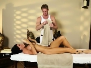 beautiful massage actions from voyeur camera