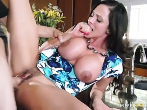 Ariella Ferrera is in heaven fucking with horny dude Tyler Nixon