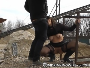 Be the next in line to fuck this naughty slutwife