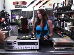 Big tits and brunette Rocker gets fucked by Shawn