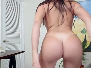 Julianna Vega is a Latina with a bubble butt and shes going to take that big,...