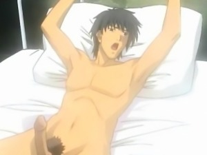 Anime sex slave licked in fucked in 3some