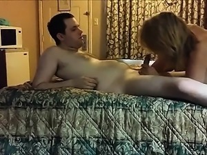 Lucky dude has two horny women on his bed