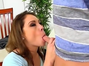Lola Vaughn and Seth Gamble are together and they are having sex. The mature...