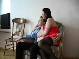 Busty Mom Helga and Sash