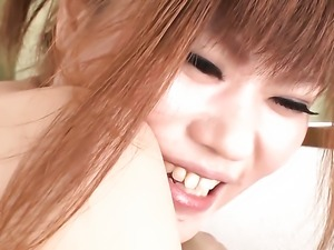 Ibuki Akitsu lets horny guy shove his cock in her pussy