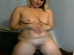 Fat Mother Fingering Her Pussy