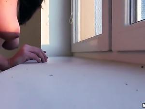 Christine Heidy gets an anal gangbang