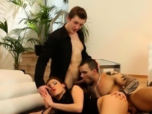 Bisexual ho cum covered