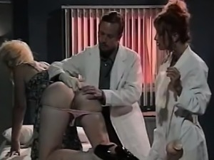 Leena, Asia Carrera, Tom Byron in vintage sex movie