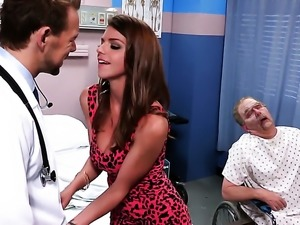 Brooklyn Chase feels the best feeling ever with dudes sticky cream all over...