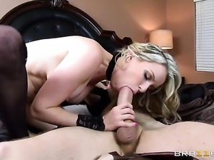 Saucy harlot Courtney Cummz with giant tits loves the way Danny D bangs her...