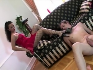 Fetish Mistress On High Heels
