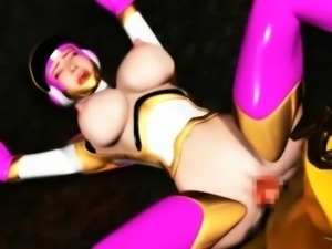 3D Astronaut Girl Captured and Fucked!