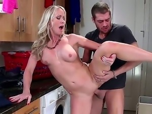 Simone Sonay is a busty milf that is tricked by her daughter to steal her BF...