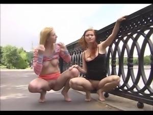Olga & Natasha - street sluts