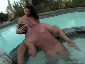 hot time in the hot tub @ tera patrick collection