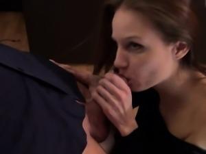 naughty-hotties.net - austrian babe quickie - bar stool anal