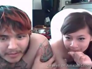 webcam couple dick sucking fun