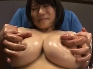 Big-Boobed Asian Wife Subjected to Mischief